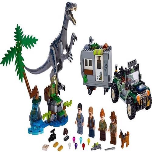 Image of Lego Jurassic World 75935 Baryonyx FaceOff skattejagten