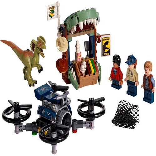 Image of Lego Jurassic World 70678 løs Dilophosaurus