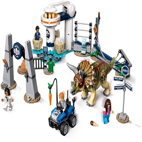 Image of Lego Jurassic World 75937 Triceratops Rampage