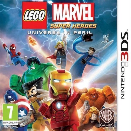 Image of Lego Marvel Super Heroes Universe In Peril - Nintendo 3Ds