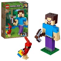 LEGO Minecraft 21148 BigFig Steve with Parrot