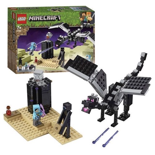 Image of LEGO Minecraft 21151 The Last Fight