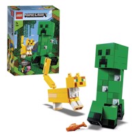 LEGO Minecraft 21156 BigFig Creeper og Ocelot