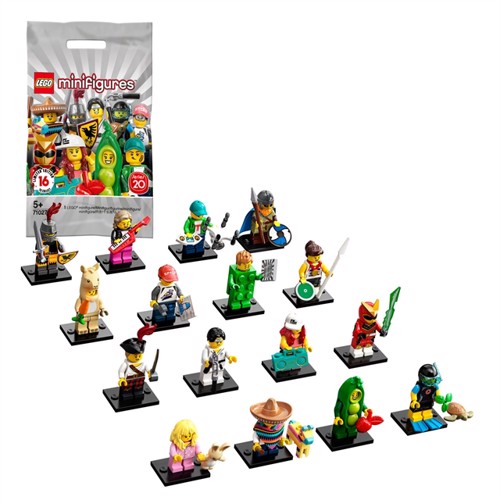 Image of LEGO Minifigures 71027 Series 20 (5702016619423)