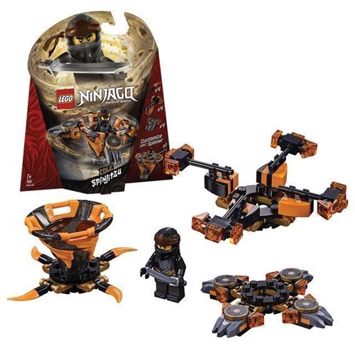 Image of LEGO Ninjago 70662 Spinjitzu Cole