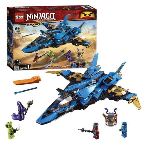 Image of Lego Ninjago 70668 JayS Storm Fighter