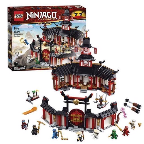 Image of LEGO Ninjago 70670 The Spinjitzu Monastery