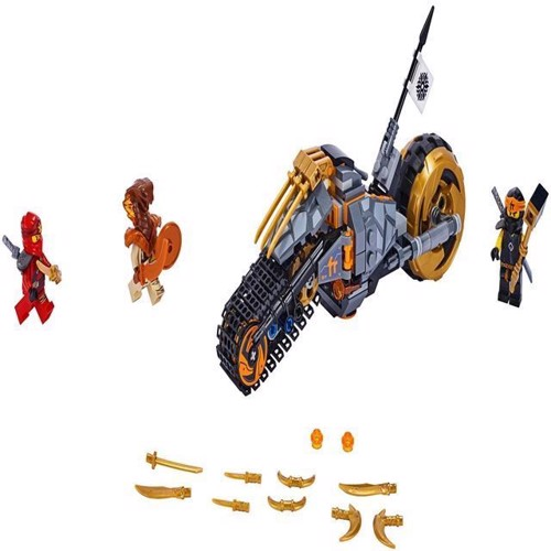 Image of Lego Ninjago 70672 Coles dirt bike