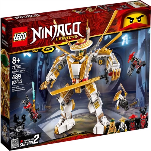 Image of Lego Ninjago 71702 golden mech