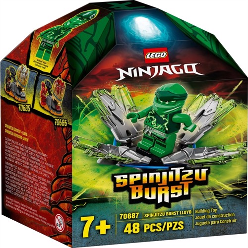 Image of LEGO Ninjago 70687 Spinjitzu Burst - Lloyd (5702016616859)