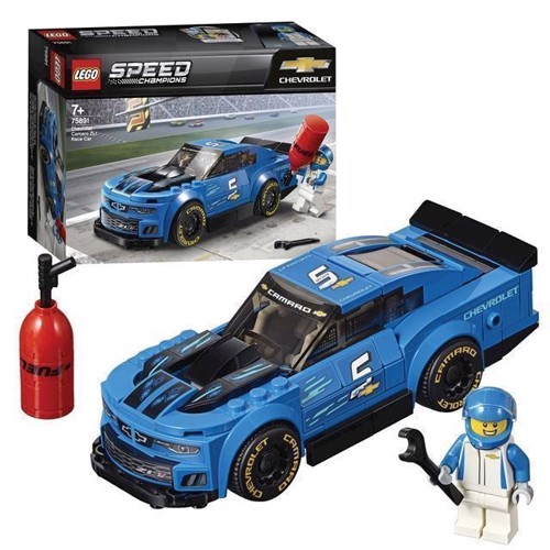 Image of LEGO Speed Champions 75891 Chevrolet Camaro ZL1 Racing car