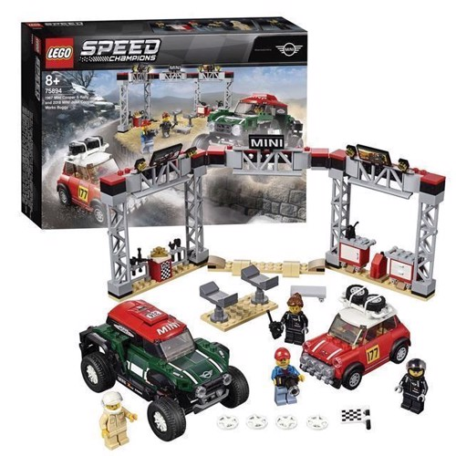 Image of Lego Speed Champions 75894 Mini Cooper S Rally 1967 And 2018
