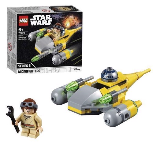 Image of LEGO Star Wars 75223 Naboo Starfighter Microfighter