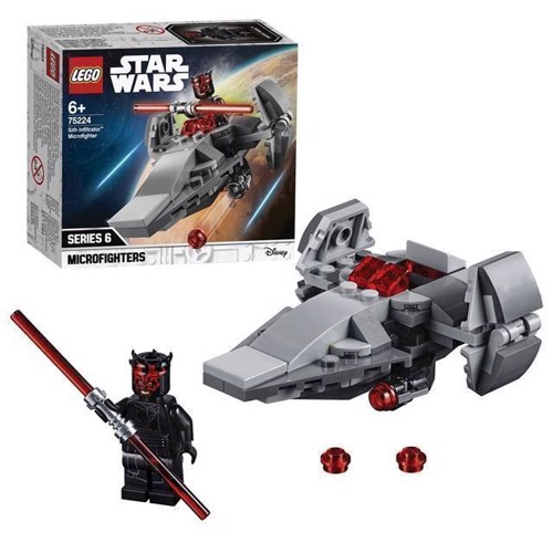 Image of LEGO Star Wars 75224 Sith Infiltrator Microfighter