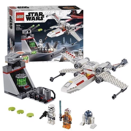 Image of Lego Star Wars 75235 Xwing Starfighter Trench Run