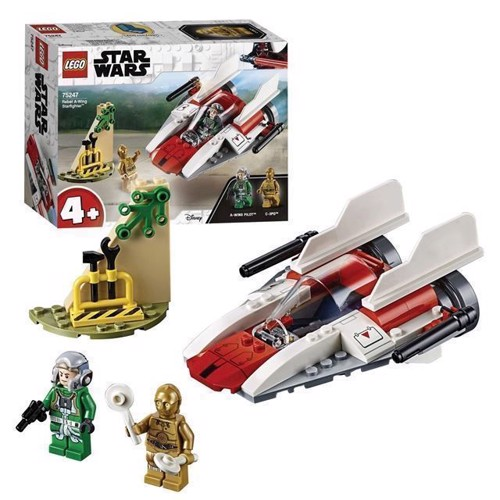 Image of LEGO Star Wars 75247 Rebel AWing Starfighter (5702016370430)