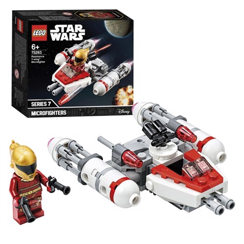 Image of Lego Star Wars 75263 episode resistance y-wing micro fighter