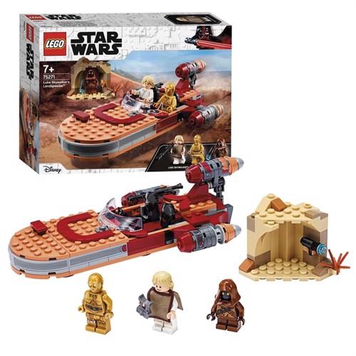 Image of Lego starwars, 75271, Luke Skywalker landspeeder