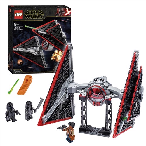 Image of Lego Star Wars 75272 episode IX Sith tiefighter