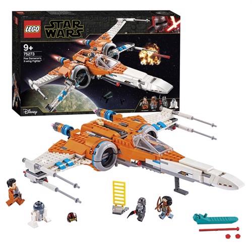 Image of Lego starwars, 75273, ixpoe dameron sx wingfighter
