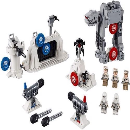 Image of Lego Star Wars 75241 echo basens forsvars kamp
