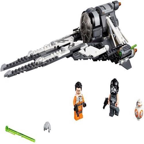 Image of Lego Star Wars 75242 Black Ace TIE Interceptor