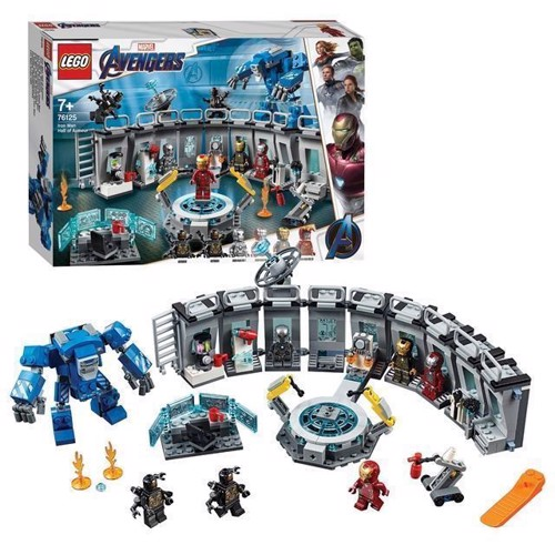 Image of Lego Super Heroes 76125 Iron Man Laboratorie Oplevelse