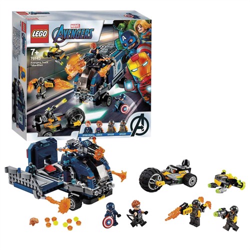 Image of LEGO Super Heroes 76143 Avengers lastbil