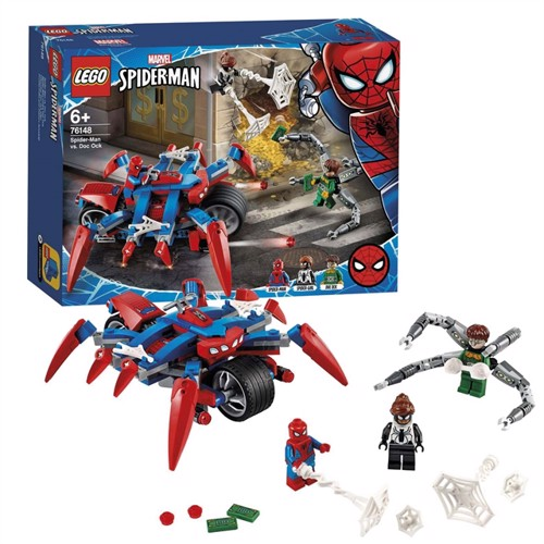 Image of LEGO Super Heroes 76148 Spiderman Vs Doc Ock
