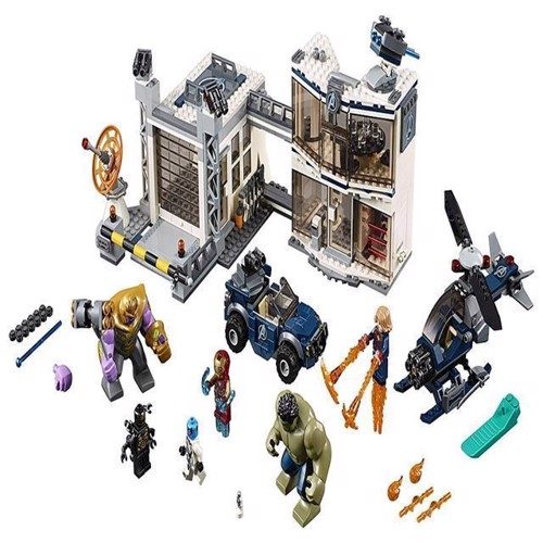 Image of Lego Super Heroes 76131, Avengers Battle