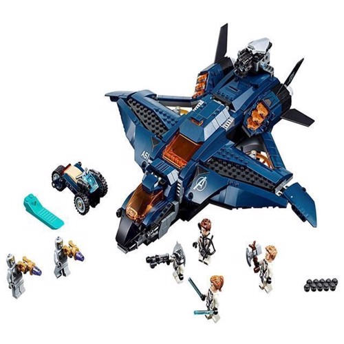 Image of Lego Super Heroes 76126 Avengers Ultimative Quinjet