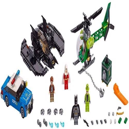 Image of Lego Super Heroes 76120 Batman Batwing og riddler kuppet