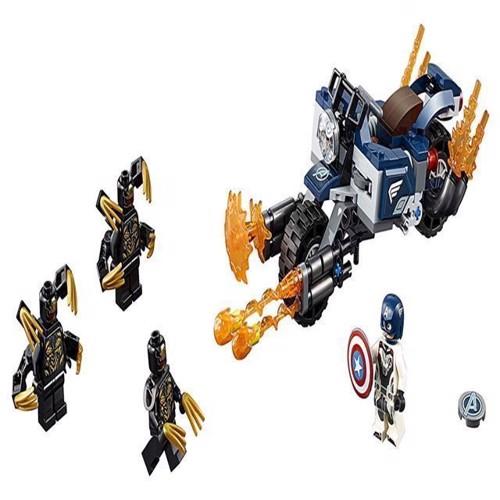 Image of Lego Super Heroes 76123 Captain Amerika angreb