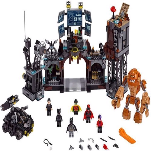 Image of Lego Super Heroes 76122 DC Batcave Clayface invasion