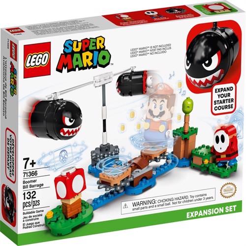 Image of LEGO Super Mario - Boomer Bill Barrage Expansion Set (71366) (5702016618457)