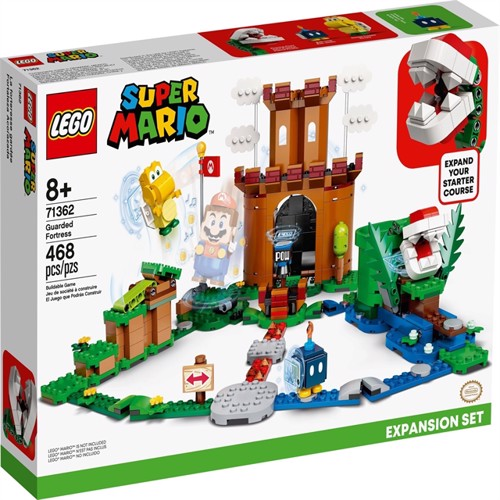 Image of LEGO Super Mario - Guarded Fortress Expansion Set (71362) (5702016618419)