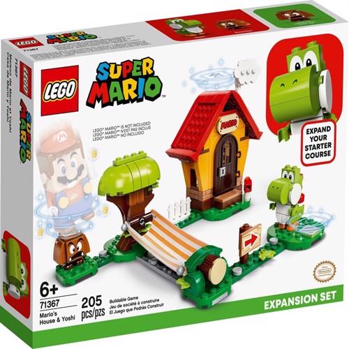 Image of LEGO Super Mario - Mario's House & Yoshi Expansion Set (71367) (5702016618464)