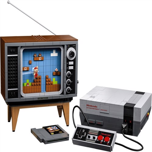 Image of LEGO Super Mario - Nintendo Entertainment System (71374) (5702016618532)