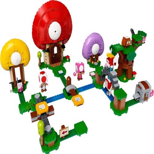 Image of LEGO Super Mario - Toad's Treasure Hunt Expansion Set (71368) (5702016618471)