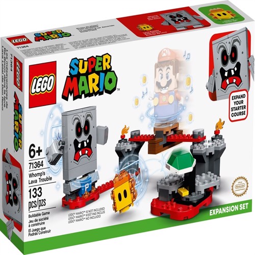 Image of LEGO Super Mario - Whomp's Lava Trouble Expansion Set (71364) (5702016618433)