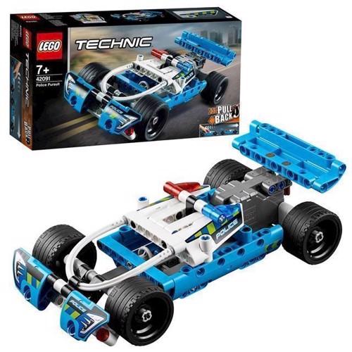 Image of LEGO Technic 42091 politi forfølgelsesbil