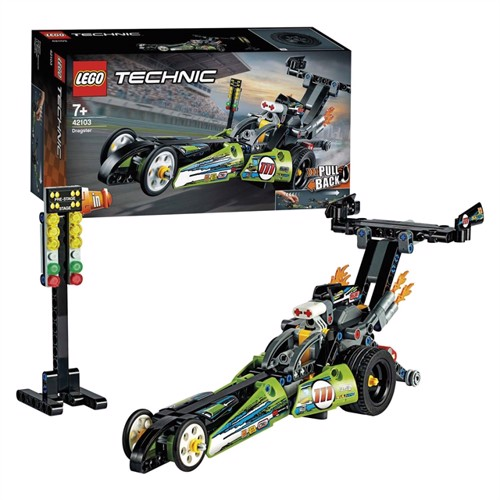 Image of Lego Technic 42103 dragster