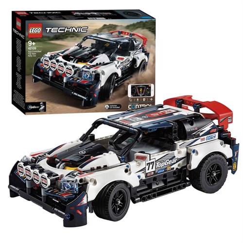 Image of Lego Technic 42109 top gear rallybil med app-styret