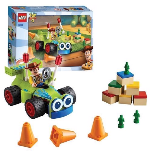Image of LEGO Toy Story 10766 Woody fjernstyret bil