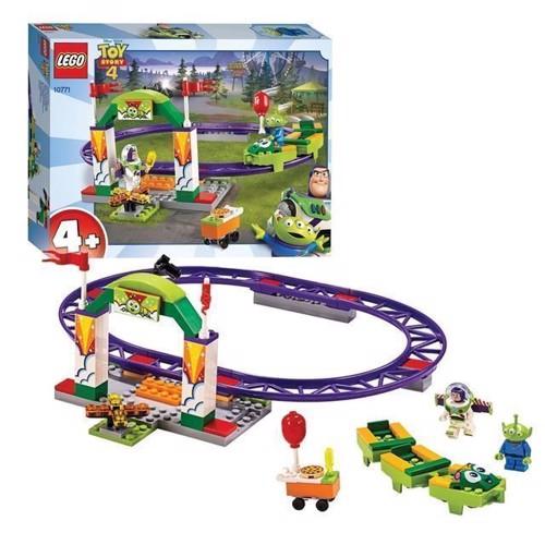 Image of LEGO Toy Story 10771 forlystelsespark, rutsjebane