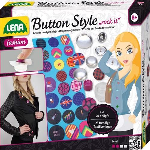 Image of Lena Badge Design Rock Til Børn