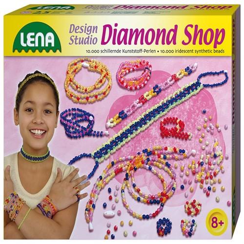 Image of Lena Diamant Design Perle Syning Til Børn Stor
