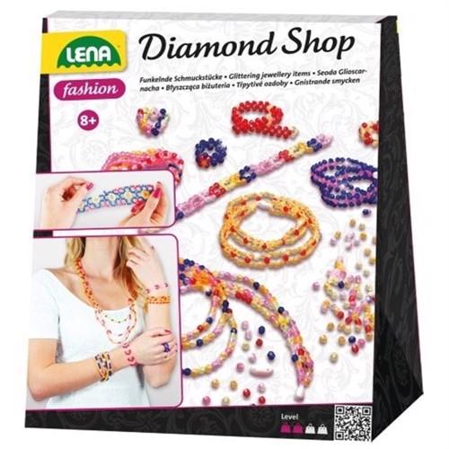 Image of Lena Diamant Design V2 Perlesyning Til Børn