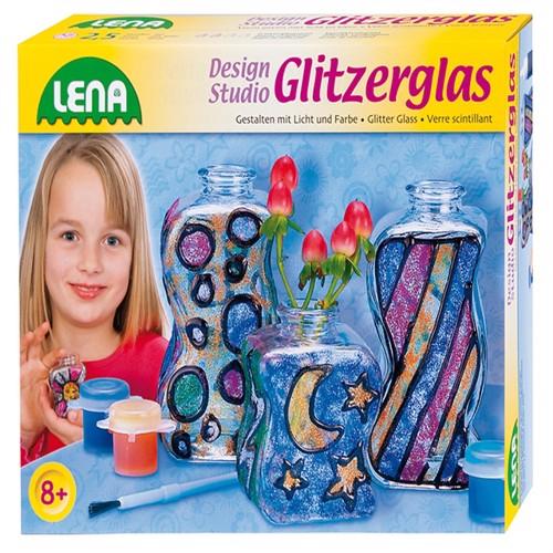 Image of Lena Glitter Vaser Til Børn