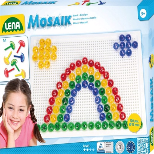 Image of Lena Mosaic Perlesæt 120 Stk 15 Mm